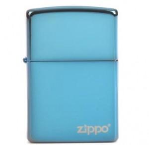 zippo打火机 蓝冰商标 20446ZL
