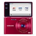 三星(SAMSUNG) MV900F 数码相机 红色(1630万像素 3.3英寸可翻转触摸屏 5倍光学变焦 25mm广角 内置4G卡)
