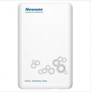 纽曼(Newsmy) 云系列 凌云 2.5英寸USB2.0移动硬盘 120G(珍珠白)